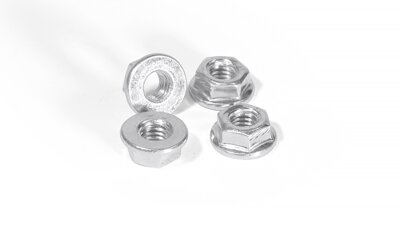 Lock nut high temperature 6 x 1 mm (Set of 4)   (AT019)