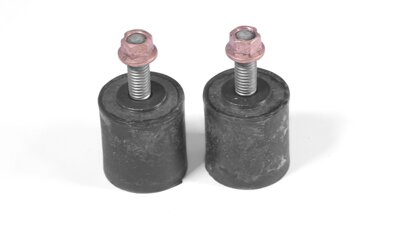 Antivibration mount 30 x 30 mm - M8 x 25 mm (Set of 2)   (M021b)