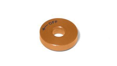 Washer O 8 ext. 24 x 5 mm, orange   (M110)