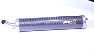 Complete silencer 350 mm assembled    (MP167)